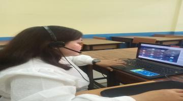 Pembelajaran Jarak Jauh oleh guru-guru SMK Pariwisata Budi Agung